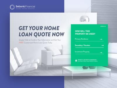 Sebonic-Financial: conversion landing page