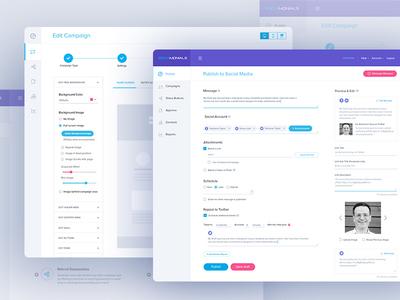 Sociamonials: Dashboard design work data user experience design ui design reports website clean simple charts dashboard analytics analytical admin