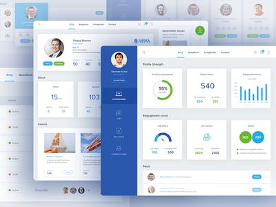 MySeaTime: Dashboard Screens data graphs user experience design ui design reports website clean charts dashboard analytics analytical admin
