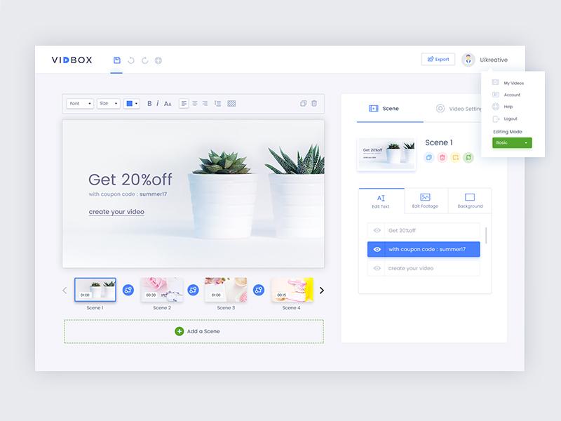 VidBox: Dashboard Design data user experience design ui design reports website clean simple charts dashboard analytics analytical admin