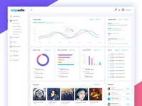 Ampsuite: Dashboard Design