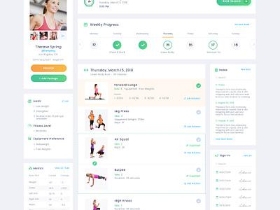 Adasse Beta 2: web app design uiux designer uikreative workout app analytical charts analytics website dashboard health app workout medicals gym app app health gym