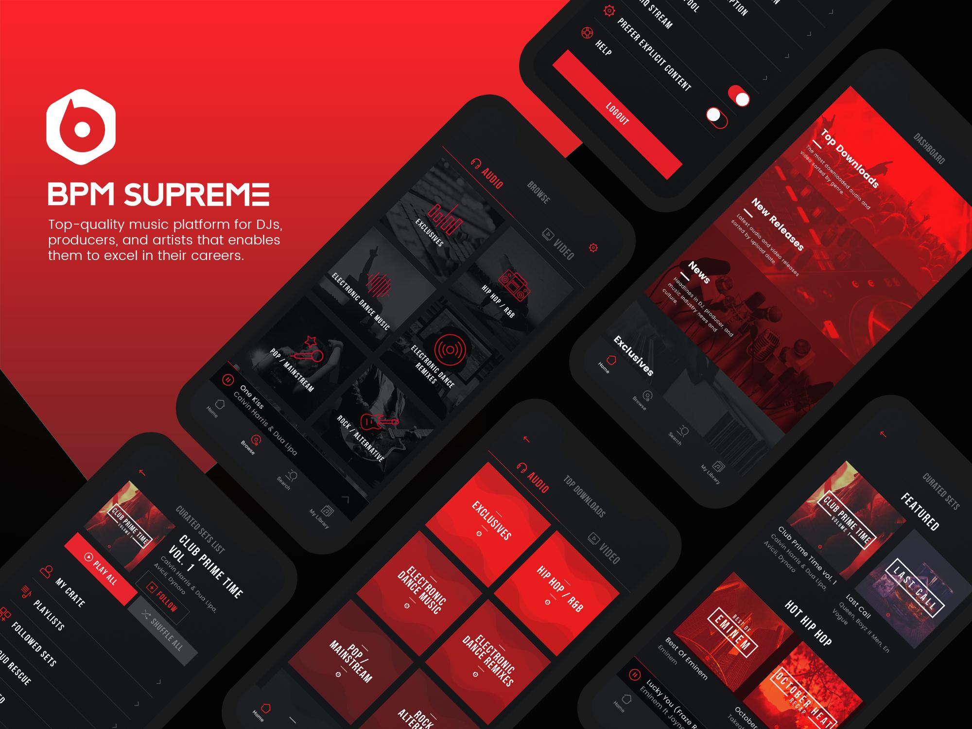 Bpm mobile app