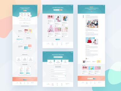 Melonstats: Website design pages