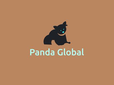 Panda Global-Logo Design