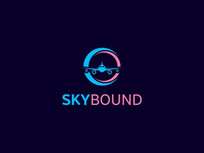 SkyBound-logo design