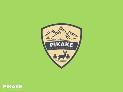 Pikake National Park logo concept
