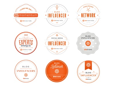 Badges design