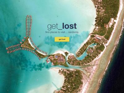 get_lost landing