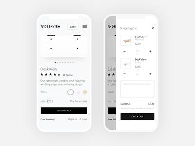 Shop DeskView On Mobile