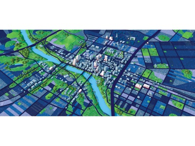 Austin Map Illustration maps 3d map aerial map rendering 3d cinema 4d c4d illustrations diligence studio stuart wade 3d artist 3d art google maps map illustration austin texas map illustration 3d illustration