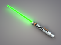 Lukes Lightsaber: WIP