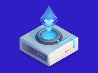 Streamr Digital Brand Illustrations: Etherium Illustration dlgnce diligence stuart wade cinema 4d c4d rendering 3d cryptocurrency crypto etherium eth 3d illustration illustration