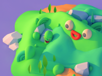 Happy Island - Detail Shot