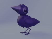 Scruffy Raven Pal