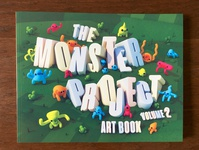 The Monster Project Art Book v2 Cover