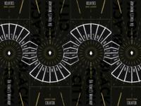 Burning Man 2016 ticket design submission