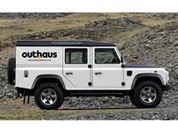 Outhaus Logo on Land rover 2