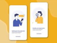 App illustration Linework