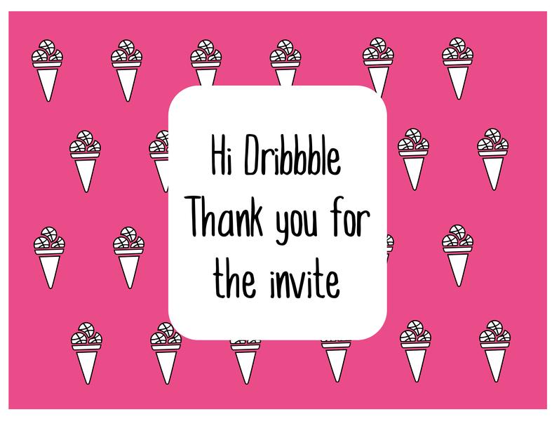 Hello Dribbble! graphic graphic design dribbble invite dribbble illustrator design debut debut shot invite giveaway invite design vector illustration