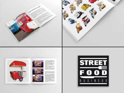 STREET FOOD BUSINESS BROCHURE
