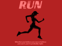 Triathlon posters - Run
