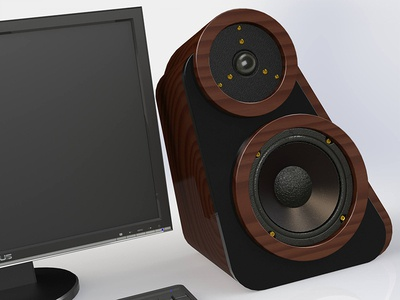 Angled Speaker Concept