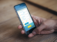 Air Flight Search&Booking App ux ui filtering booking vector ipad iphone ios application design