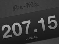 Pre-Mix