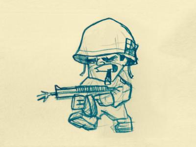 Army Man Character