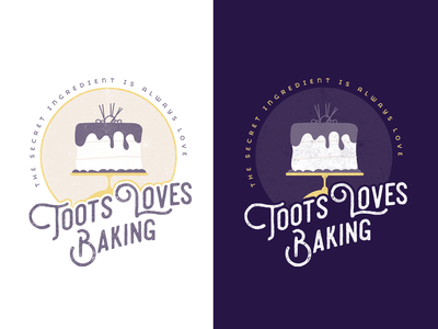 Toots Loves Baking Logo