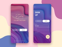 Daily UI #001_Sign Up