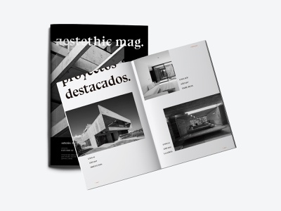 Aestethic Mag indoor house book cover design book cover mockup open book black photography editorial photography architecture book cover book graphic design magazine cover black and white typography magazine editorial layout editorial design editorial design