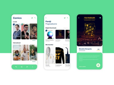 Comics Mobile App