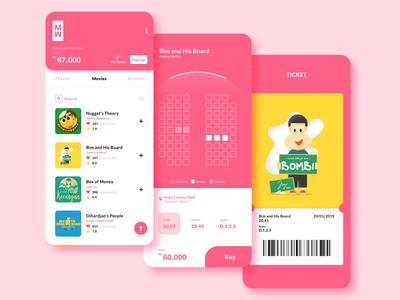 Cinema Ticket App