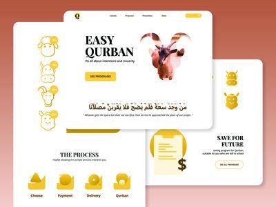 Qurban Ecommerce Website
