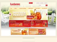 Luzianne Site Redesign