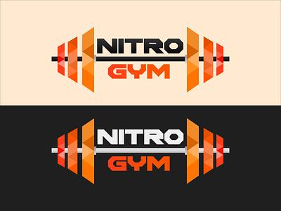 NTRO GYM Logo design gym logo digital logo digitalart company logo branding design brand identity brand design illustration vector branding logo minimal flat design