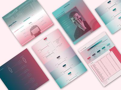DATA VISUALIZATION Design website design ui adobe illustrator sketchapp information visualization dataviz algorithm vector illustration minimal flat design