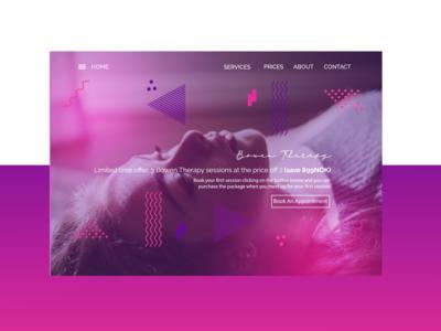 WEB DESIGN - HEADER