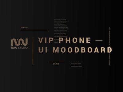 W.I.P Presentation UI layout moodboard phone ui presentation