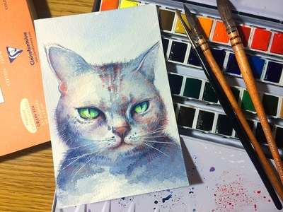My little pet Tikee ಠωಠ sketch