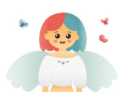 The Girl design graphic graphic artist vector illustration drawing vector illustrator illustration graphic  design inspiration