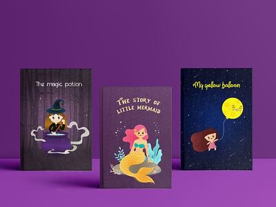 Children's Story Book Cover Illustrations graphic artist graphic  design graphic design illustrator illustration inspiration