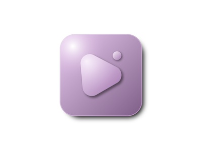 PlayButton Icon vector management app icon design icon set iconset icons design icon playlist player play