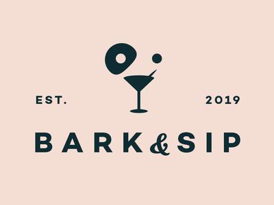 Bark And Sip Logo