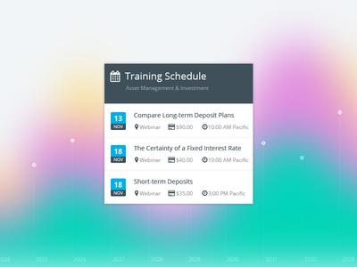 UI elements ui element panel graph blur background chart web design