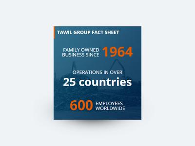 UI factsheet card factsheet orange blue colorful panel card web design ui