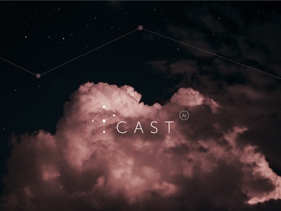 Cast AI: Logo and Brand Identity technologies cloud corporate branding corporate identity corporate cases design technology typogaphy concept design branding concept brandidentitydesign branding design brand identity aesthetics branding logo