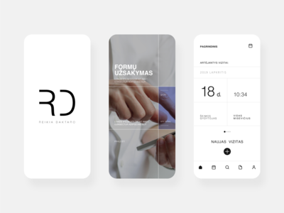 Mobile app: Reikia Daktaro